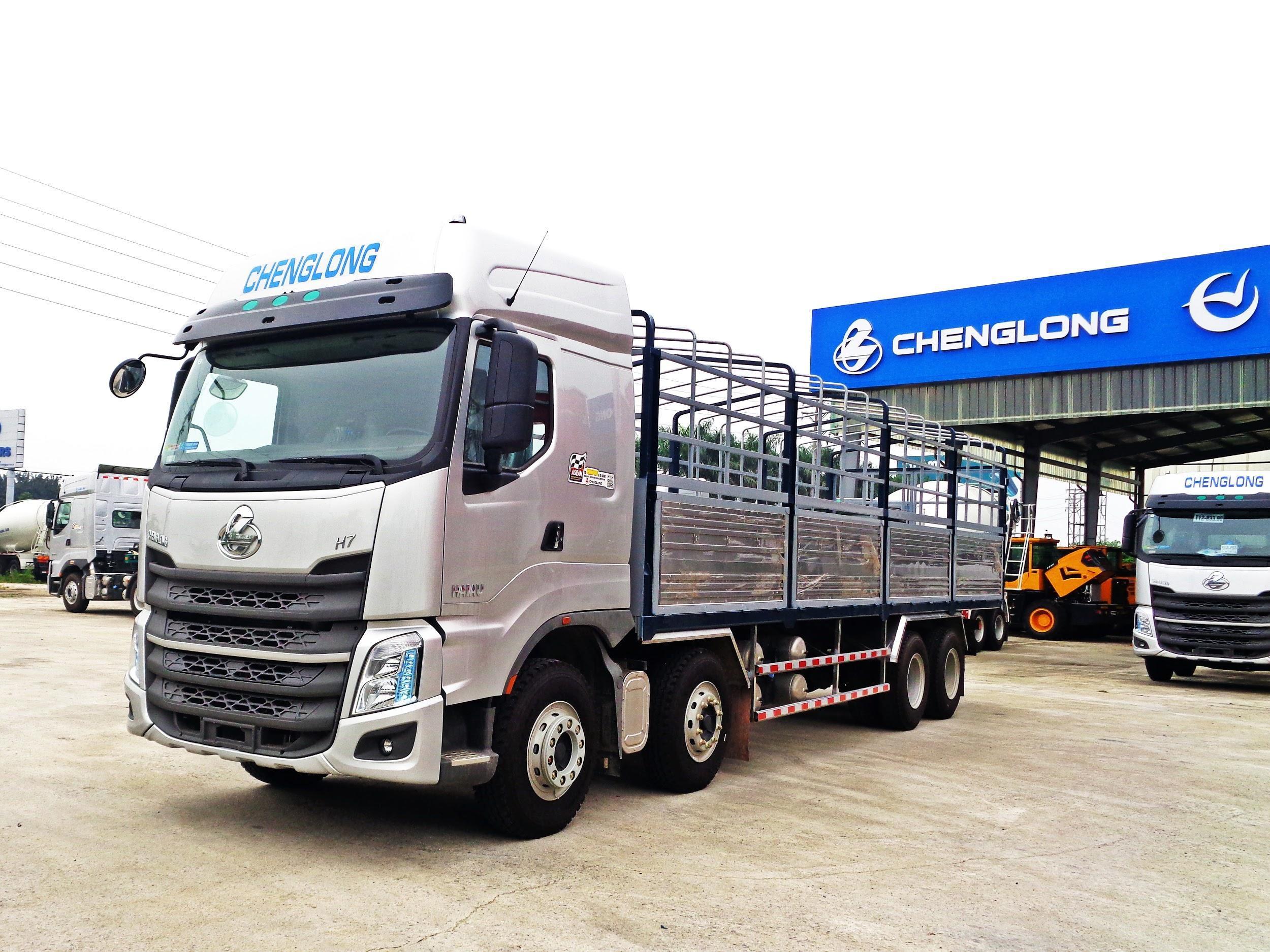 XE TẢI THÙNG CHENGLONG H7 8×4 330HP