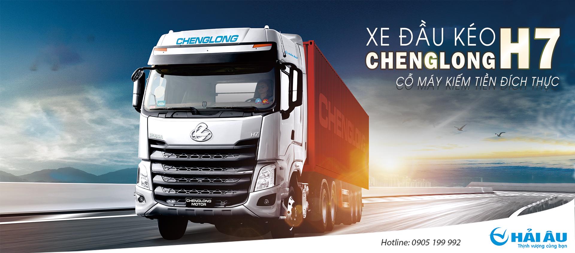 XE ĐẦU KÉO CHENGLONG H7 420HP